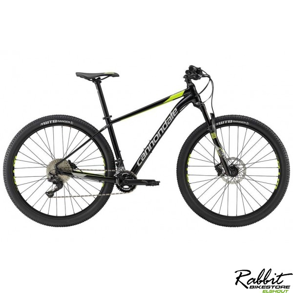 Cannondale 29 Trail 2 Lg, Jet Black W/ Fine Silver And V