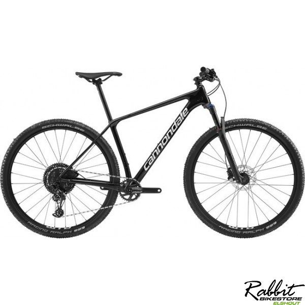 Cannondale 29 M F-si Crb 5 Blk Lg, Black