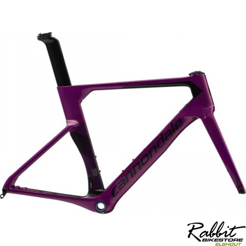 Cannondale SystemSix Hi-Mod Frame 2020 54cm, Paars