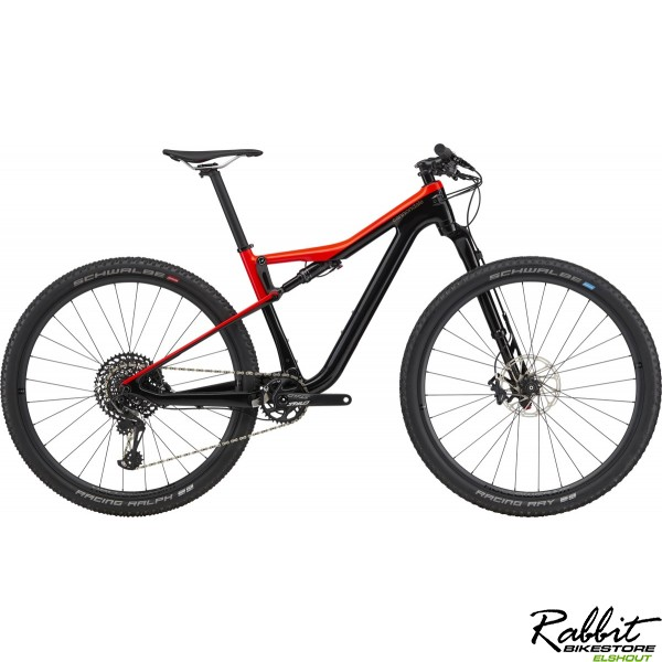 Cannondale DEMO Scalpel Si Carbon 3 2020 L, Acid Red
