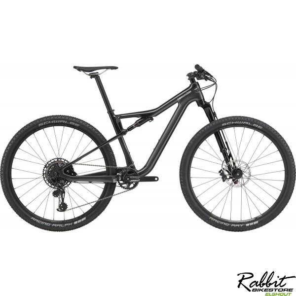 Cannondale DEMO Scalpel Si Carbon 4 2020 Zwart L , Zwart