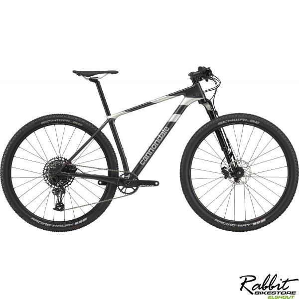 Cannondale F-Si Carbon 4 2020 L, Zwart/Zilver
