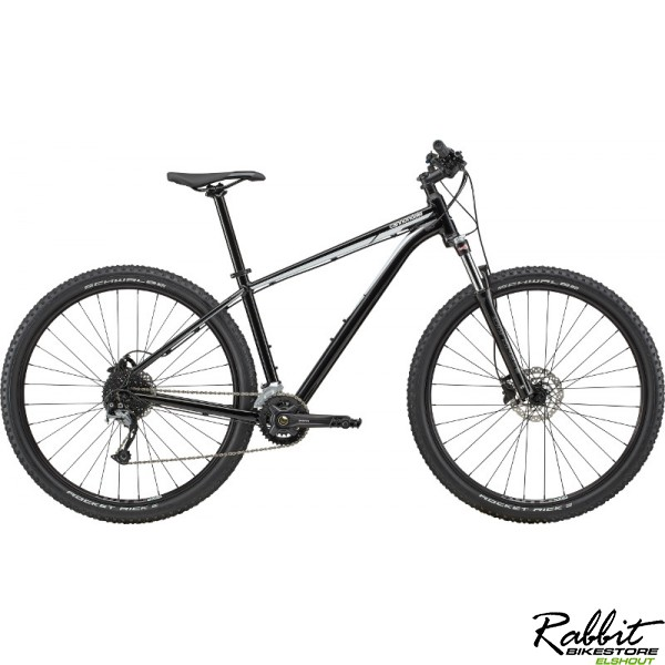 Cannondale Trail 6 2020 XS, Zwart