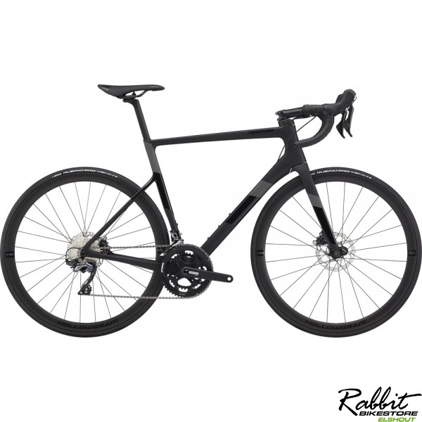 Cannondale Supersix Carbon Disc Ultegra 54 , Zwart