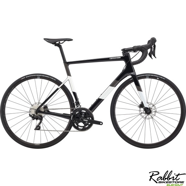 Cannondale Supersix Carbon Disc 105 56, Zwart