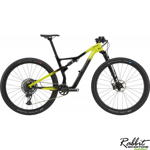 Cannondale DEMO Scalpel Carbon LTD 2021 L, Geel