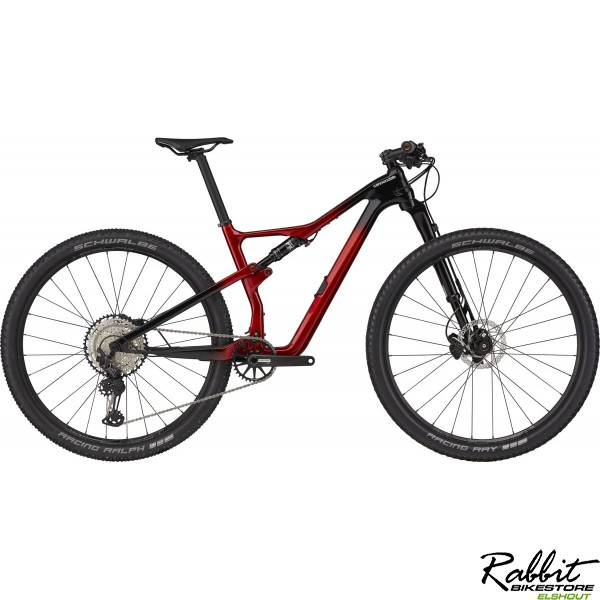 Cannondale Scalpel Carbon 3 2021 Candy Red L, Candy Red