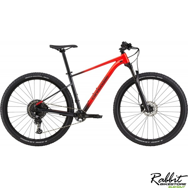 Cannondale Trail Sl 3 2021 Zwart M, Black