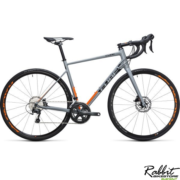 Cube ATTAIN RACE DISC GREY/FLASHORANGE, GREY/FLASHORANGE