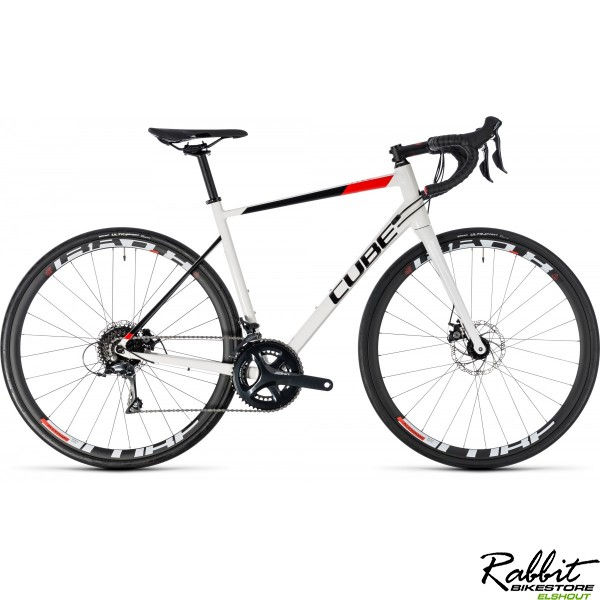 Cube CUBE Attain Pro Disc white/red 2018 53CM, white/red
