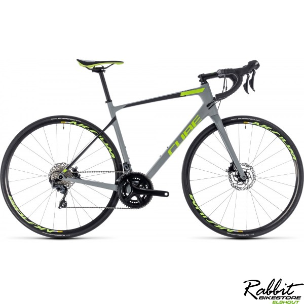 Cube CUBE Attain GTC Race Disc grey/green 2018 56CM, grey/green