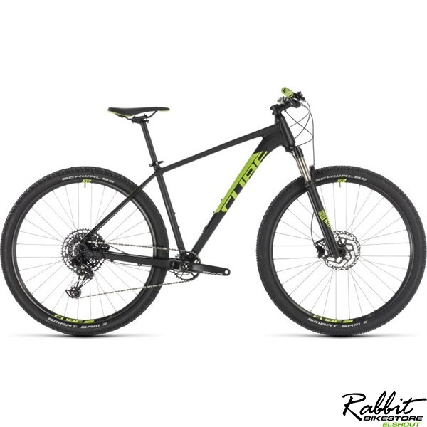 "Cube ACID EAGLE BLACK/FLASHGREEN 2019 17"", black/flashgreen"