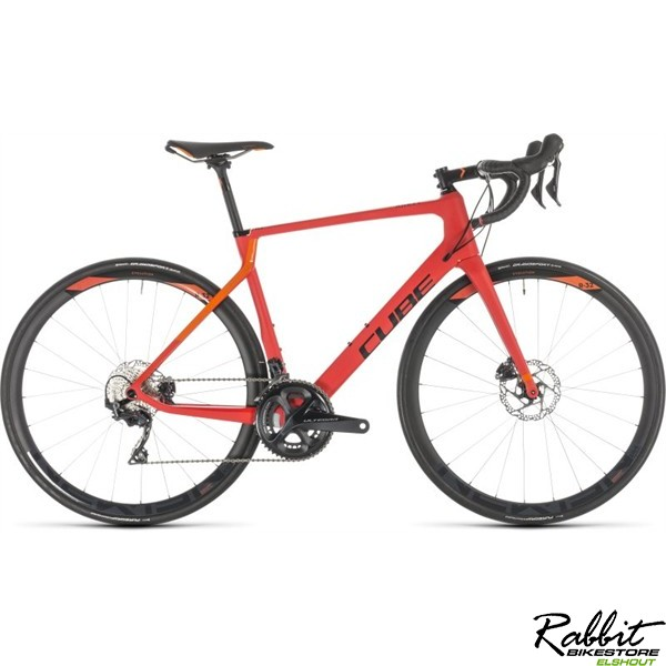 Cube CUBE AGREE C:62 RACE DISC RED/ORANGE 2019 58cm, red/orange
