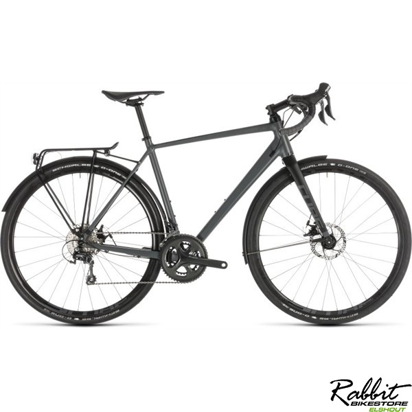 Cube NUROAD PRO FE GREY/BLACK 2019 58cm, grey/black