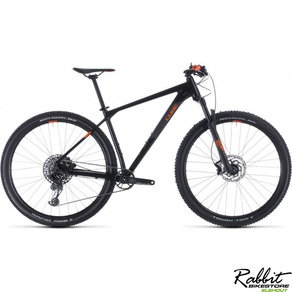 Cube 2020 Reaction Race Black/orange 2020