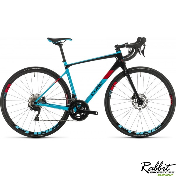 Cube AXIAL WS GTC PRO LIGHTBLUE/RED 2020, lightblue/red