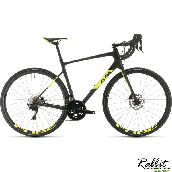 Cube ATTAIN GTC RACE CARBON/FLASHYELLOW 2020, carbon/flashyellow