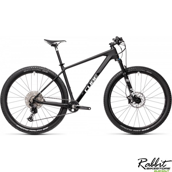 "Cube Reaction C:62 Race Carbon/white 2021 ""17, Carbon/white"