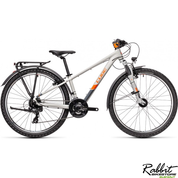 CUBE ACID 260 ALLROAD GREY/ORANGE 2021, Grey/orange