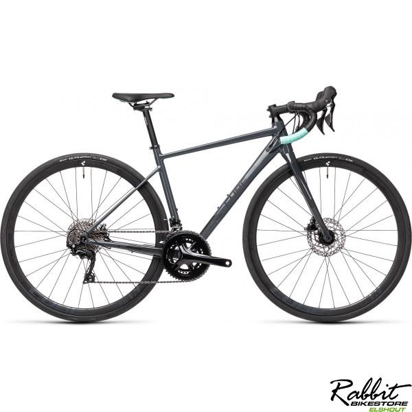 CUBE AXIAL WS RACE GREY/MINT 2021 50CM S, Grey/mint