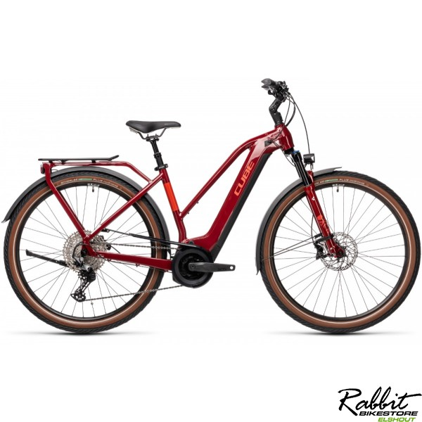 Cube 2021 Touring Hybrid Exc 500 Red/grey 2021