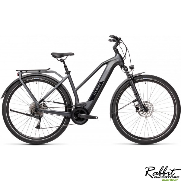 Cube KATHMANDU HYBRID ONE 500 IRIDIUM/BLACK 2021 T50, iridium/black