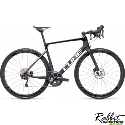 CUBE AGREE C:62 RACE CARBON/WHITE 2021 56CM, Carbon/white