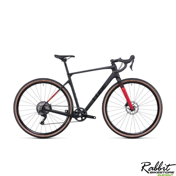 CUBE NUROAD C:62 PRO CARBON/RED 2022, Carbon/red