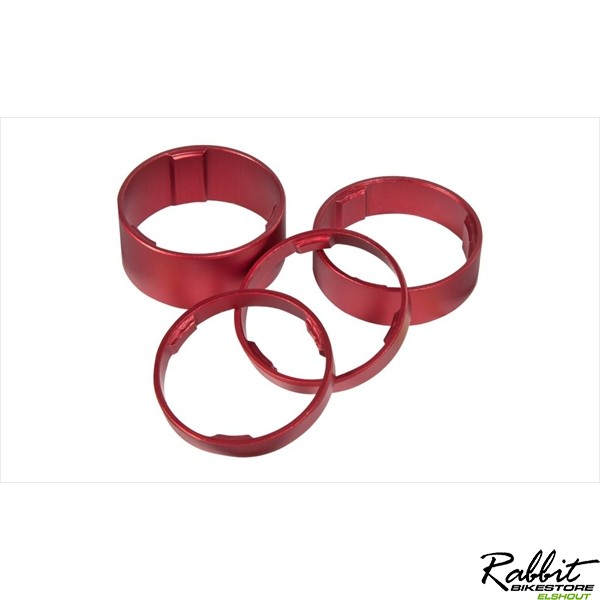CUBE SPACER SET RED