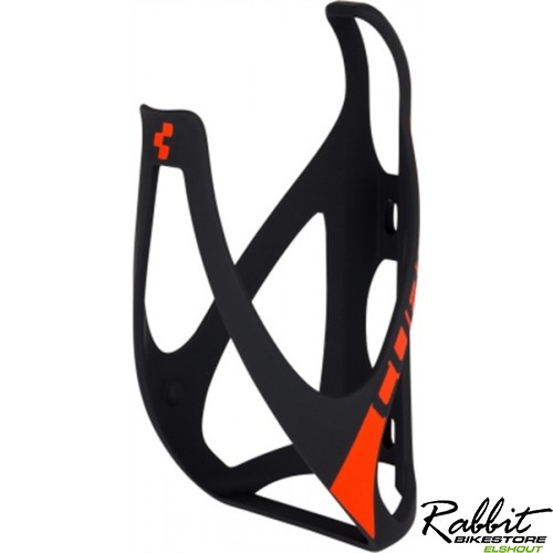 BOTTLE CAGE HPP MATT BLACK 'N' FLASHRED