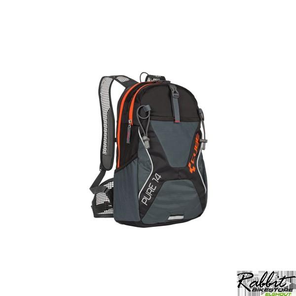 Cube Backpack Pure 14 Black 'n' Flashred