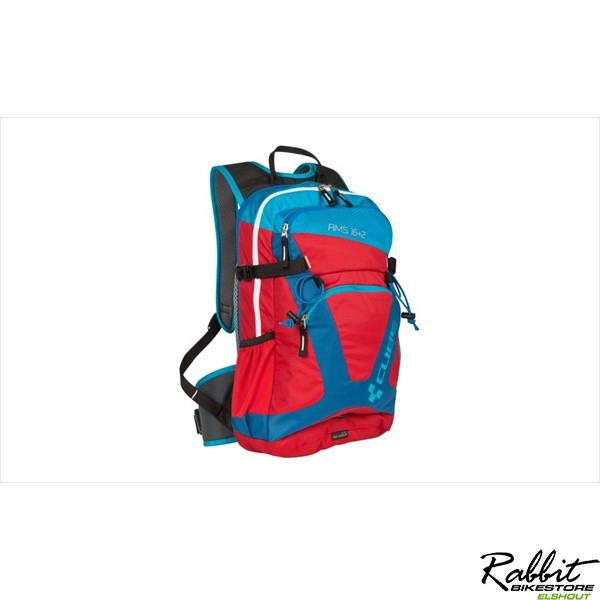 BACKPACK AMS 16+2 BLUE 'N' RED