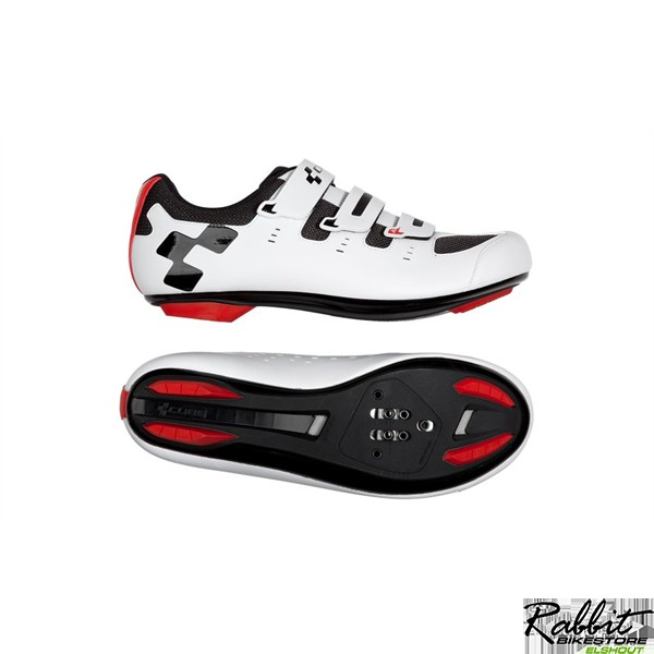 SHOES ROAD CMPT WHITE 'N' RED