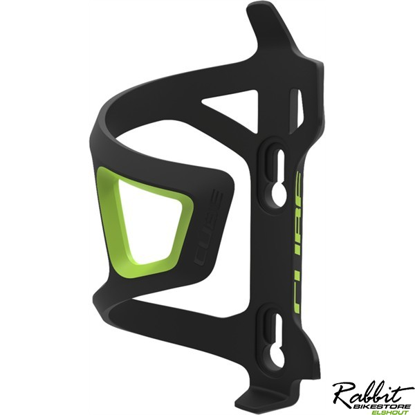 CUBE BOTTLE CAGE HPP-SIDECAGE BLACK/GREEN