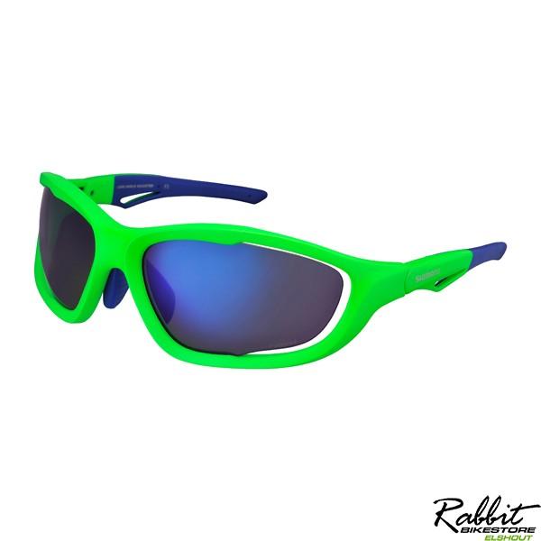 Ce-S60X-Pl Mat Neon Green/BluePolarized Grey Blue Mirror