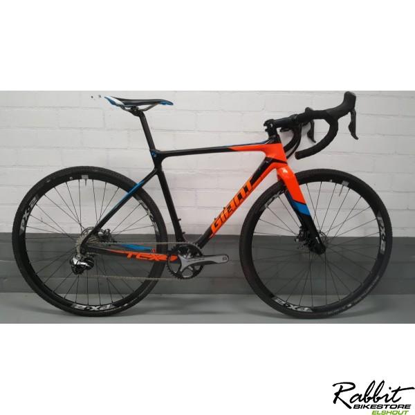 Giant Giant TCX Advanced SL, Zwart/Orange/Blauw