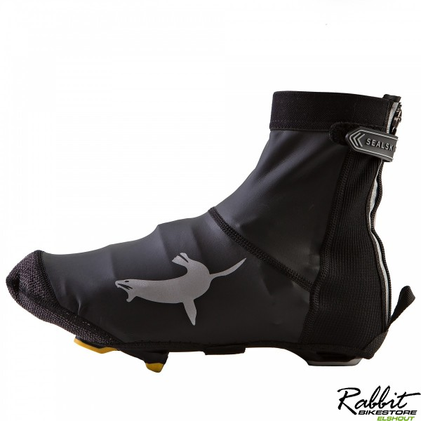SS Lightweight Open Sole Overshoe-Black-M