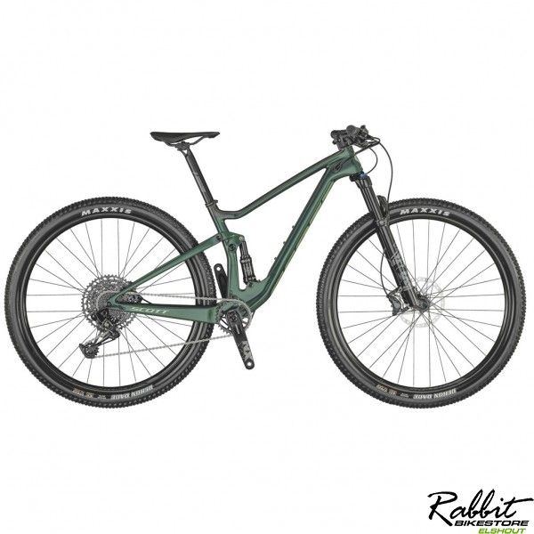 Scott Spark Rc 900 Contessa Comp 2021 M, Green