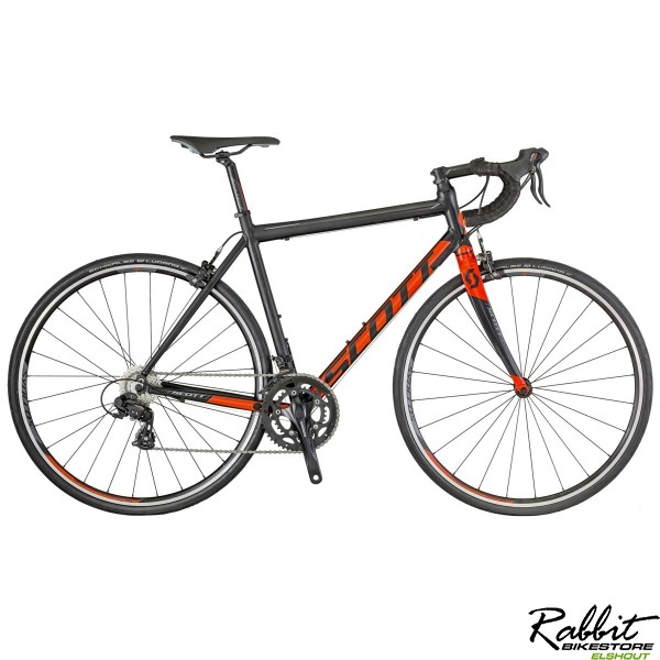 Scott Speedster 50 S/52, Zwart/rood