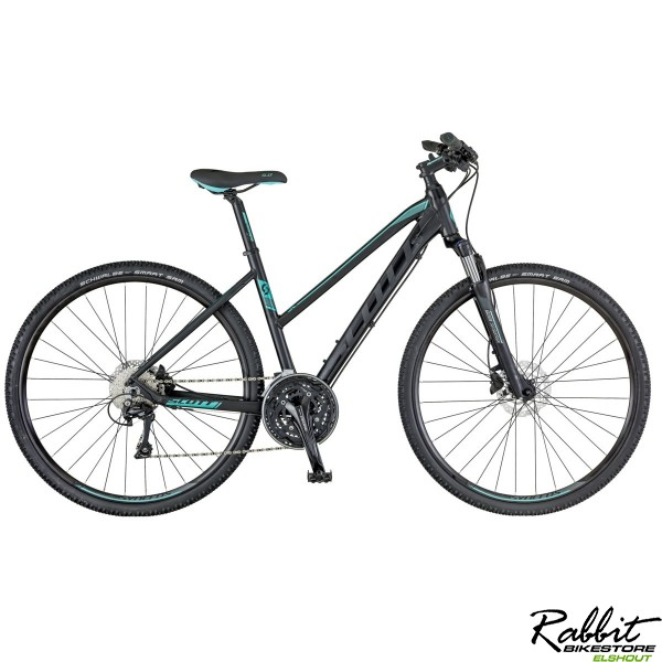 Scott Bike Sub Cross 20 Lady, Zwart/Blauw