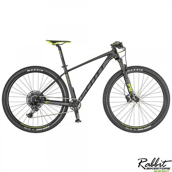 Scott Scale 950 M, Black/neon Yellow