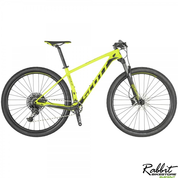 Scott Scale 940 Carbon M, Neon Yellow