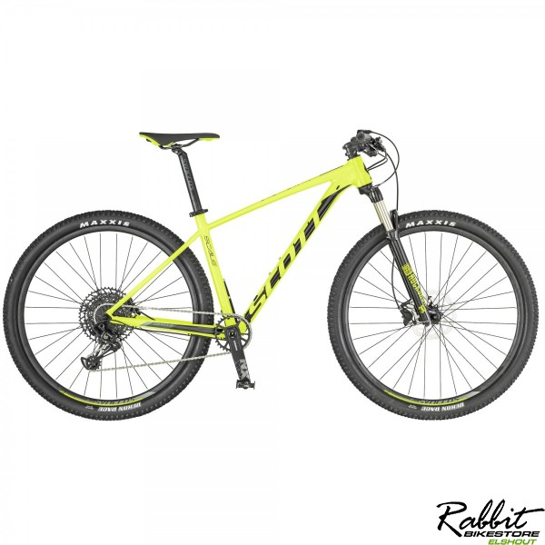 Scott Scale 980 XL VERHUUR, Geel/zwart