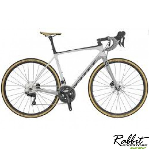 Scott Addict 20 Disc XL58, Wit/zilver