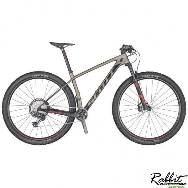 Scott Scale 910 2020 XL, Bruin/Zwart/Rood