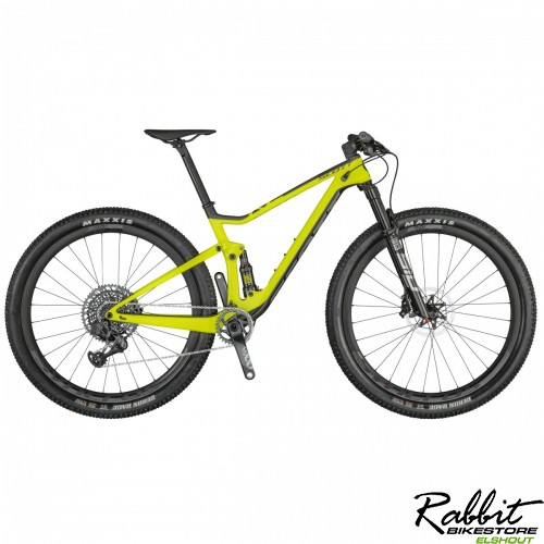 Scott Demo Spark Rc 900 World Cup Axs 2021 M, Zwart/geel
