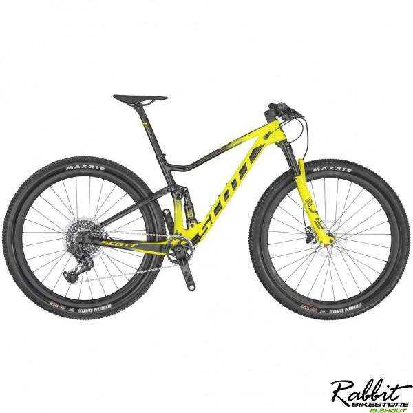 Scott Spark Rc 900 World Cup Axs 2020 Xl, Zwart/geel