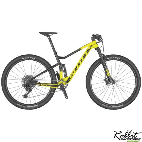 Scott Spark Rc 900 Comp 2020 M, Zwart/geel