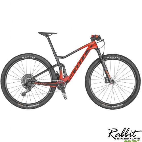 Scott Spark Rc 900 Team Red 2020 M, Metallic Dark Red