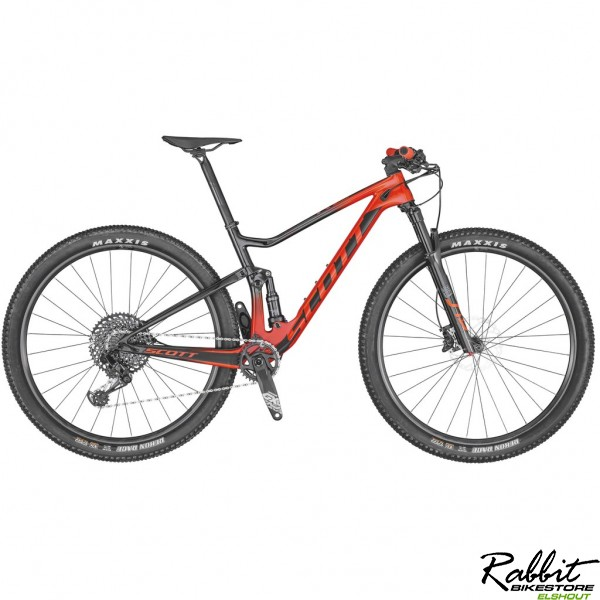 Scott Spark RC 900 Team red 2020 XL, Rood